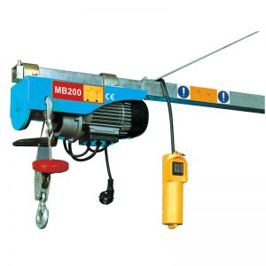 MB200 Mini elektrische takel, elektrische hefinrichting